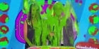 Watch: Depp and Stewart avoid Slime at Kids Choice  