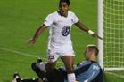 Waitakere United striker Roy Krishna. Photo / Getty Images.