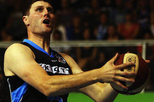 Alex Pledger has spent nearly four years with the Breakers but it is only now that he feels he truly belongs in the Australian NBL. Photo / Getty Images.