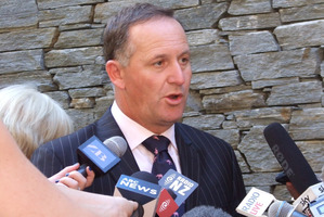 John Key probably finds it hard to compute that his Government is now on the backfoot. Photo / Otago Daily Times
