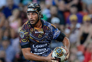 Johnathan Thurston. Photo / Bradley Kanari