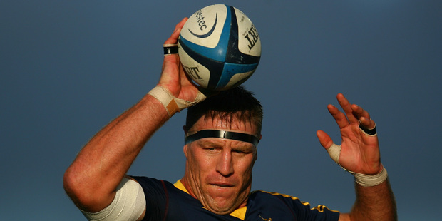 Brad Thorn, who rarely drinks, has enjoyed a long career. Photo / Getty Images