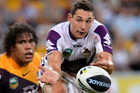 Billy Slater is looking as sharp as ever for the Storm. Photo / Getty Images