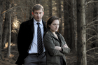 David Wenham and Elizabeth Moss in Top of the Lake. Photo / Supplied