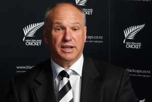 NZ Cricket CEO David White. Photo / Getty Images