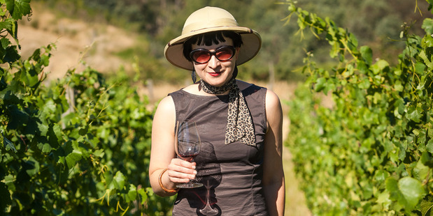 Jo Burzynska, on the hunt for the best wine in Marlborough. Photo / Frank Gasteiger
