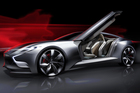 Hyundai's streamlined HND-9 is due to be unveiled at the Seoul Motor Show this week.