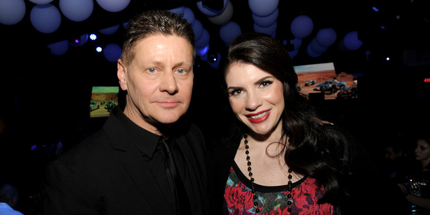 Andrew Niccol and writer/producer Stephenie Meyer. Photo / Getty Images