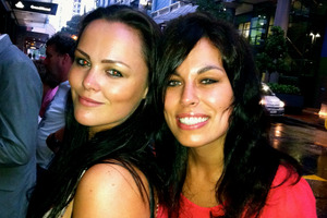 Taryn Kerr (left) says she and partner Sasha Kljakovic 'have burning red faces with hurt and anger' over opposition to gay marriage. Photo / Supplied