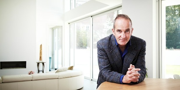 Kevin McCloud in the new 'Grand Designs' series. Photo / Supplied