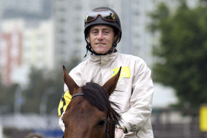 There are few better jockeys on the world stage than Irishman Johnny Murtagh. Photo / Allsport