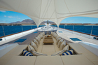 Post-renovation, superyacht Ethereal is still a luxuriously comfortable boat. Photo / Supplied