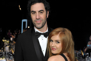 Isla Fisher says life with her husband, Sacha Baron Cohen, isn't 'normal'. Photo / AP