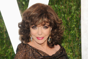 Actress Joan Collins is approaching her 80th birthday.Photo / AP