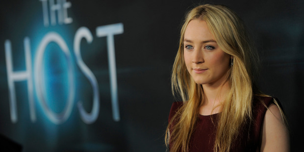 Actress Saoirse Ronan, the star of 'The Host'. Photo / AP