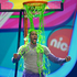 Los Angeles Lakers NBA basketball player Dwight Howard gets slimed at the Nickelodeon's Kids' Choice Awards. Photo / AP