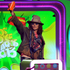 Johnny Depp accepts the award for favourite movie actor for 'Dark Shadows' at the Nickelodeon's Kids' Choice Awards. Photo / AP