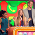 Amandla Stenberg, Willow Shields and Alexander Ludwig accept the award for favourite movie for 'The Hunger Games' at the Nickelodeon's Kids' Choice Awards. Photo / AP