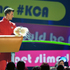 Host Josh Duhamel slimes the crowd at the annual Nickelodeon's Kids' Choice Awards. Photo / AP