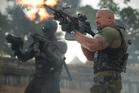 Ray Park and Dwayne Johnson, stars of 'G.I. Joe: Retaliation'. Photo / AP