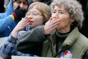 Three separate United States polls show support for same-sex marriage is on the rise. Photo / AP