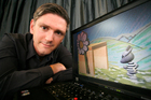 Stephen Knightly, head of the New Zealand Game Developers Association, says the local industry is seeing massive growth. Photo / Garry Brandon