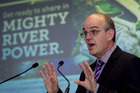 Stae owned enterprises Minister Tony Ryall speaking at the launch of pre-registration for the Government's share offer in Mighty River Power earlier this month. Photo / NZ Herald