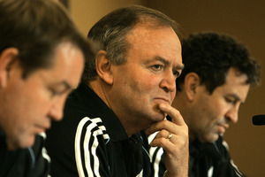 All Black coaches Steve Hansen, Graham Henry and Wayne Smith were shocked by the team's heavy drinking antics. Photo / Brett Phibbs