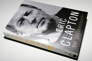 Eric Clapton rewrote his autobiography after realising he had wrongly blamed friends for his descent into drink and drugs hell.Photo / Supplied