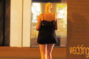 During a night walk of the area, Ms Lole-Taylor spoke to one girl aged 13 who said she made up to $600 a night. Photo / APN