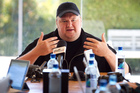 Kim Dotcom's residency application stalled and was then suddenly lifted. Photo / Natalie Slade