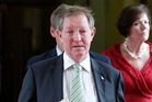 Housing Minister Nick Smith said he agreed with Auckland Council's policy of building up and out. Photo / Mark Mitchell
