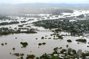 The report says more frequent flooding could stretch the Australian Defence Force. Photo / APN