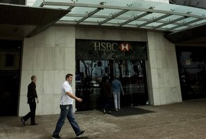 Only levels 6 and 10 of the 17 levels in the HSBC Tower are empty, but the vendor has given a 6 month rent underwrite on the vacancies. Photo / Jason Dorday