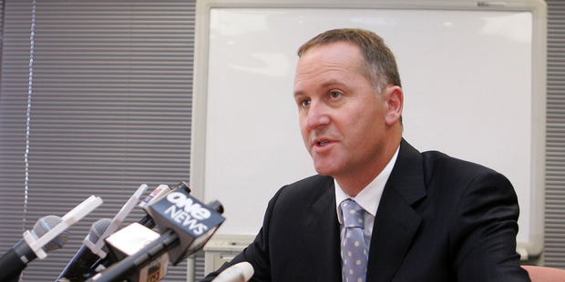 The PM has come under fire for his personal connections to GCSB director Ian Fletcher. Photo / File