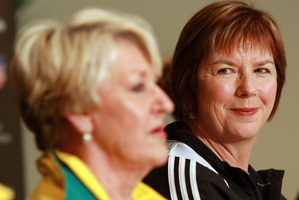 Norma Plummer (left) and Ruth Aitken haven't faced off since the 2011 world championship final. Photo / NZPA