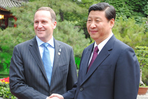 Prime Minister John Key will again meet Xi Jinping, now China's new leader. Photo / NZPA