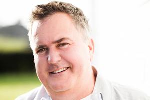 Simon Gault has a new book out, Homegrown.Photo / Supplied