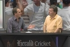 Herald cricket scribes David Leggat and Andrew Alderson discuss the exhilarating 'on the edge of your seat' test match at Eden Park with the Black Caps falling short of a win a by only one wicket.