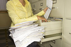 It's important for small businesses to keep up to date with the paperwork. Photo / Thinkstock