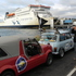 The 47 Minis in the Pork Pie Charity race prepare to hit the South Island. Photo / Paul Charman