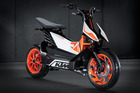 The KTM for use in Driven, April 6.