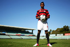Kwabena Appiah-Kubi plays for the Western Sydney Wanderers FC. Photo / Getty Images