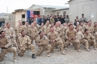 The New Zealand flag has been lowered for the final time at Kiwi Base in Bamiyan, the symbolic end to New Zealand's 10-year involvement in the war in Afghanistan. Afghan authorities will now have sole responsibility for development and security in the province, whose future is still uncertain.