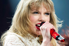 Taylor Swift was nearly hurt by a Lord of the Rings sword owned by Ed Sheeran. Photo / AP