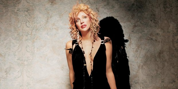 American singer, Courtney Love. Photo / Supplied