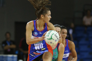 Kayla Cullen of the Mystics in action during the ANZ Championship match between the Mystics and the Melbourne Vixens at Trusts Stadium. Photo / Getty Images.