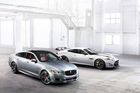 Jaguar XJR and XKR S as unveiled at the New York International Auto Show. Photo / Supplied