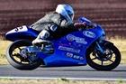 Scout Fletcher was runner-up in the 125GP class in her debut season. Photo /Andy McGechan, BikesportNZ.com