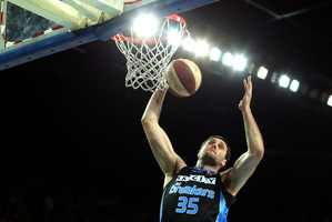 Alex Pledger says the Breakers are not worried about their three big defeats to the Wildcats this season. Photo / Getty Images